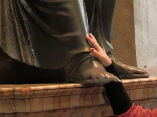 Estátua em Roma, Itália