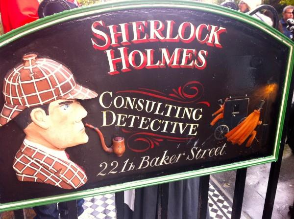 Fachada do Museu do Sherlock Holmes