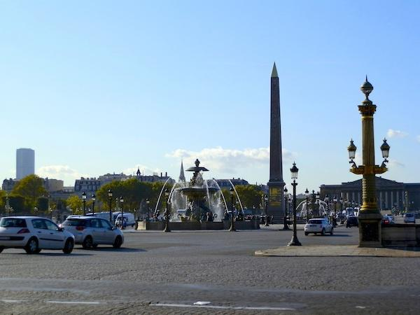 Obelisco em Concordia, Paris