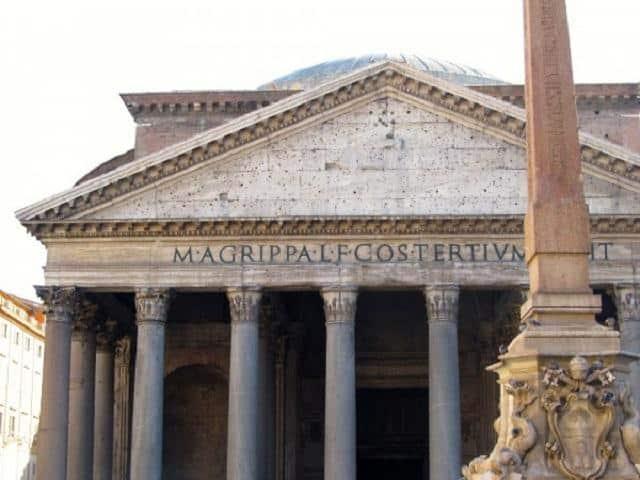 Panteão de Agripa, Roma Antiga