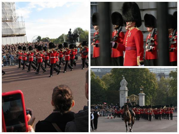 Troca da Guarda Palácio Buckingham