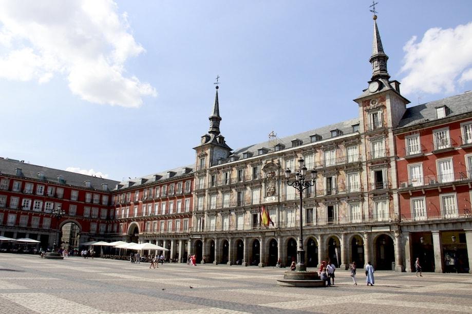 Roteiro em Madrid: Plaza Mayor