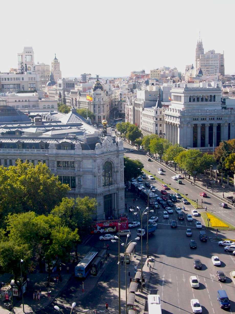 Roteiro em Madrid: Vista do Mirante CentroCentro