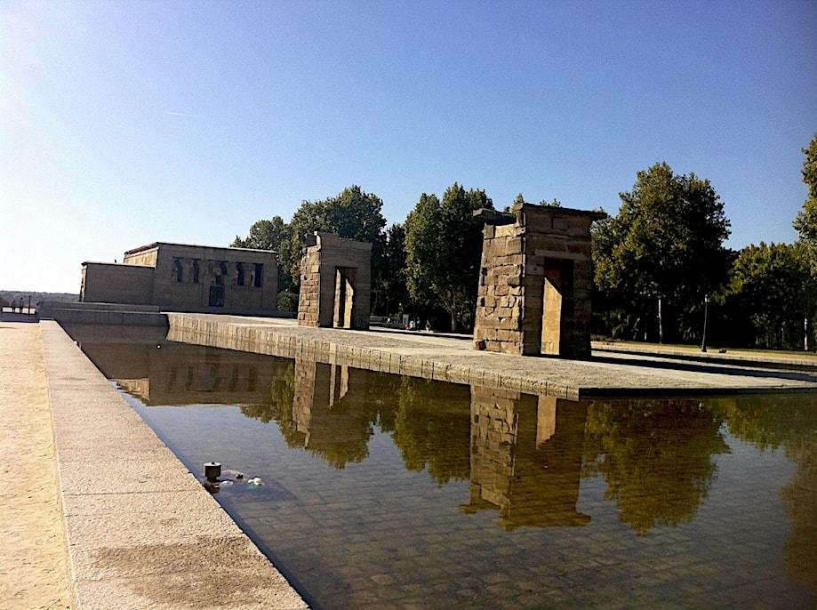 Roteiro em Madrid: Templo Debod