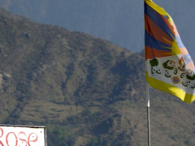 Bandeira do Tibet - McLeod Ganj