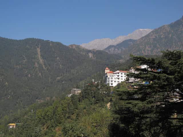 Vista McLeod Ganj Índia