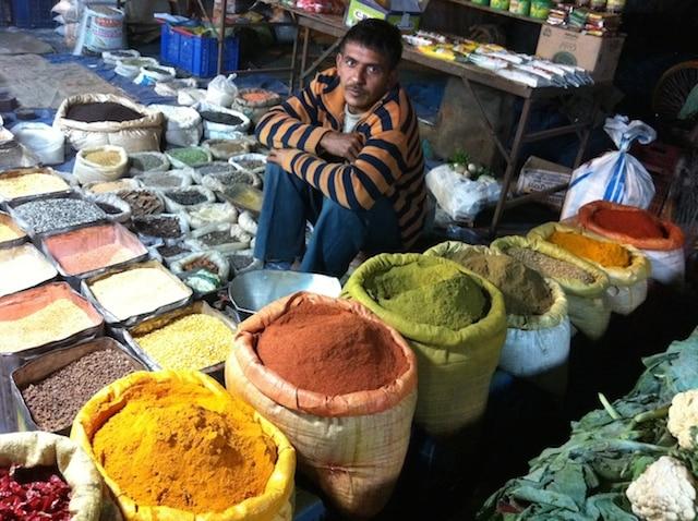 mercado especiarias india