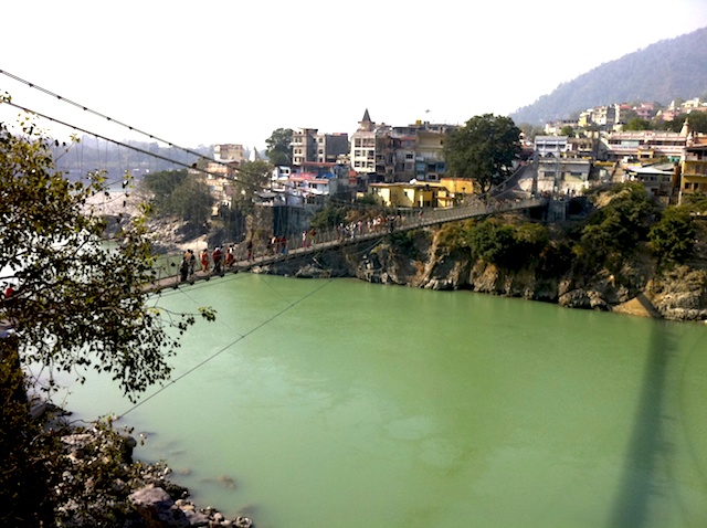 Ganges em Rishikesh - índia