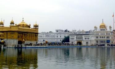 O Templo Dourado dos Sikhs em Amritsar