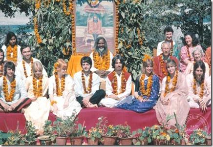 Os Beatles na Índia