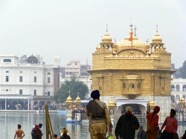 Golden Temple dos Sikhs em Amritsar
