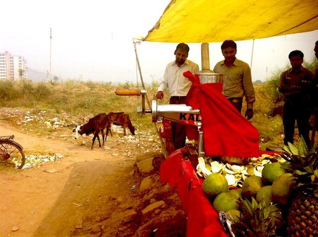 lixão em chandigarh - India