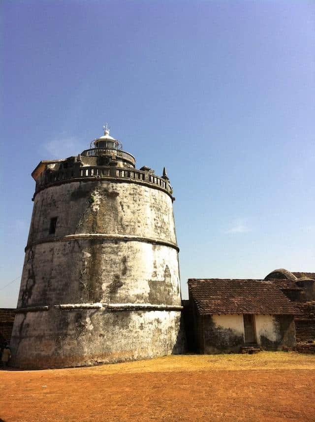 Forte em Goa - Índia