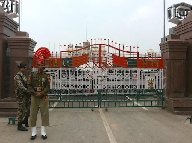 Fronteira Índia e Paquistão Attari