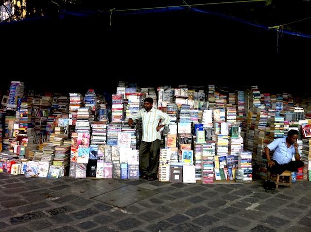 Livreiro em Mumbai