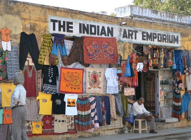 Comércio em Jaipur, Índia