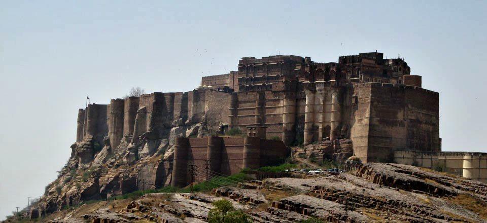 Forte em Jodhpur, Índia