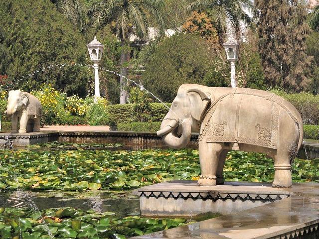 Jardins de Udaipur, Índia