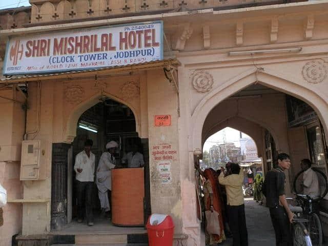 Loja de lassi em Jodhpur, Índia