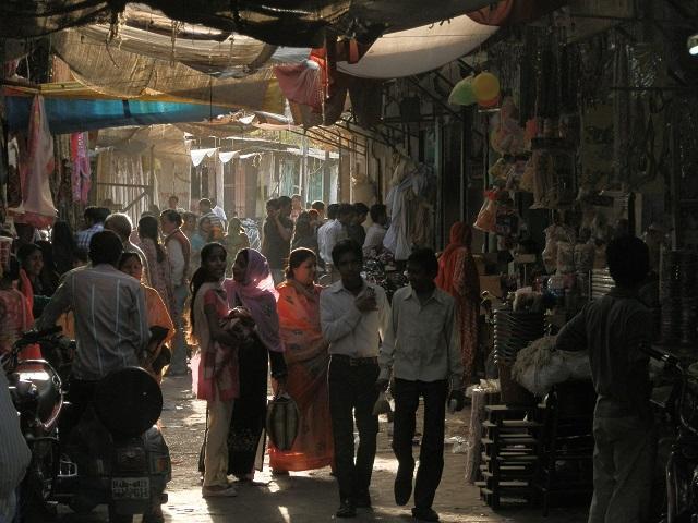 Mercado de rua em Jodhpur