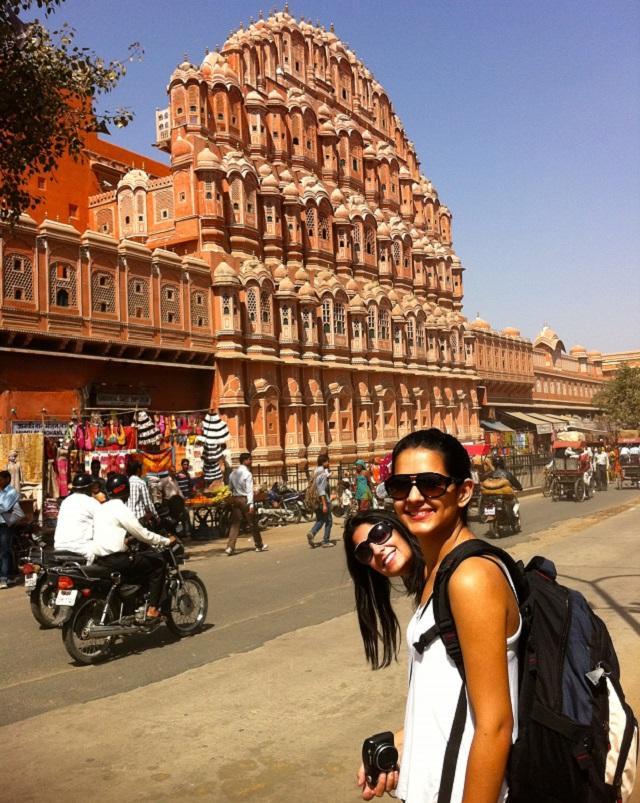 Palácio em Jaipur, Índia
