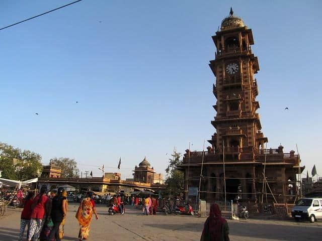 Torre de Jodhpur, Índia