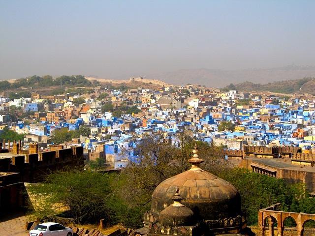 Vista de Jodhpur, Índia