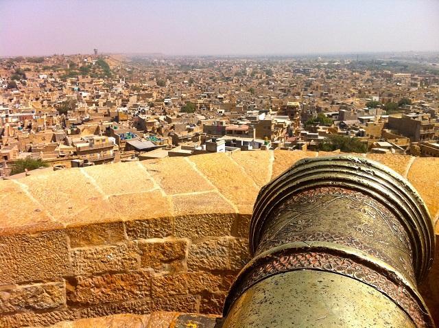 Vista do forte de Jaisalmer