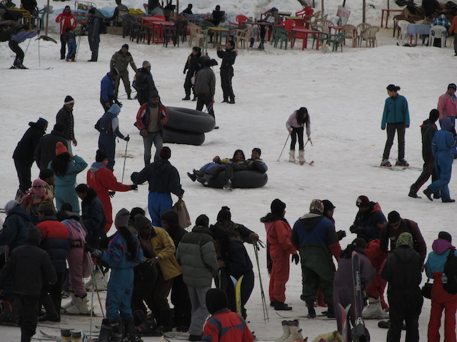 Estação de Esqui no Himalaia