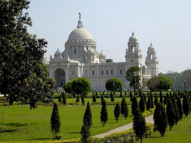 Calcutá: Jardins do Victoria Memorial