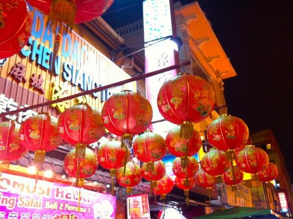 Chinatown em Kuala Lumpur, Malásia