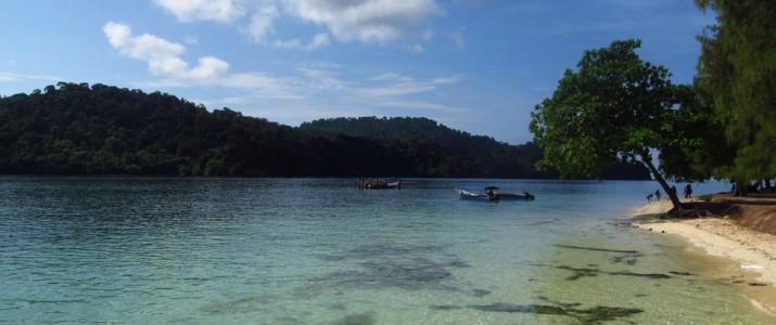 Viajar para a Malásia - Praias