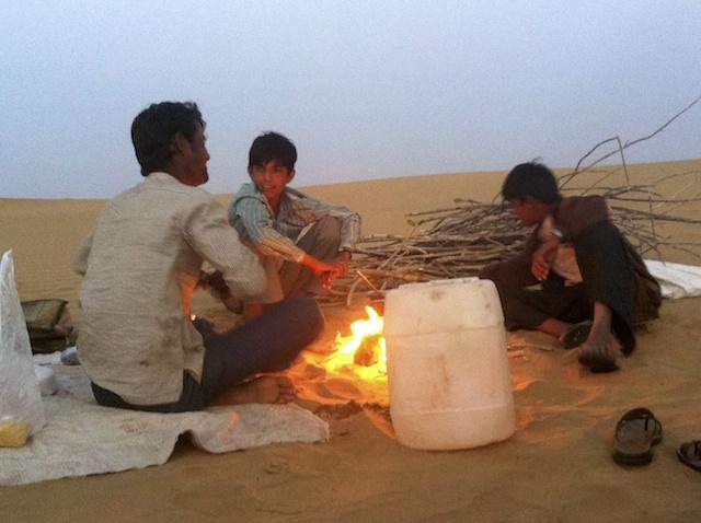 Jantar no Deserto - Índia