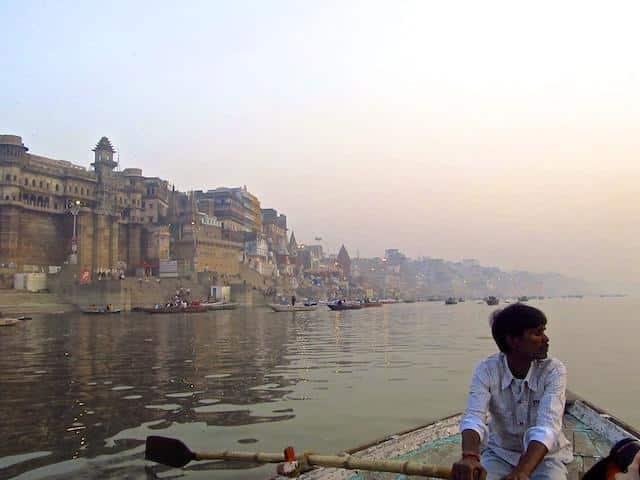 Rio Ganges - Passeio de barco