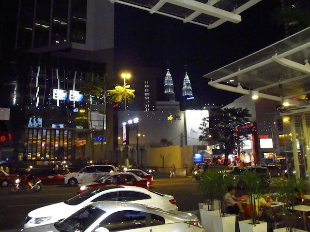 Ruas de Kuala Lumpur