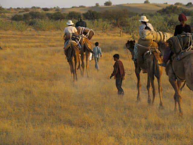 Safari de Camelo no Deserto de Thar
