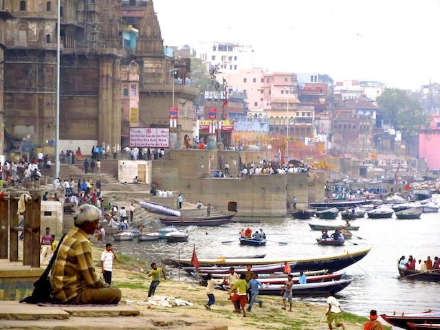Varanasi - Rio Ganges