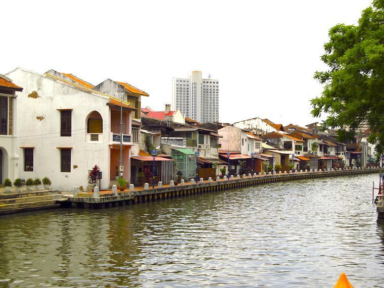 Malaca, na Malásia
