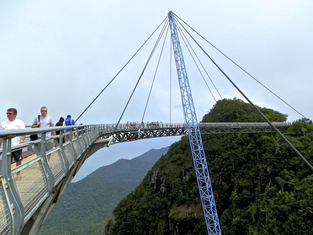 Ponte suspensa Langkawi