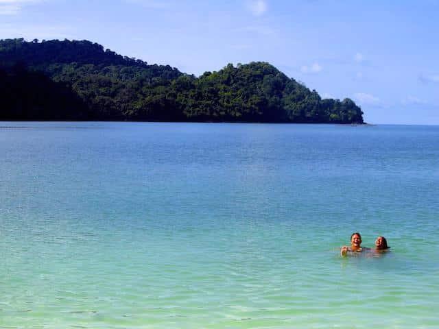 Praia em Langkawi
