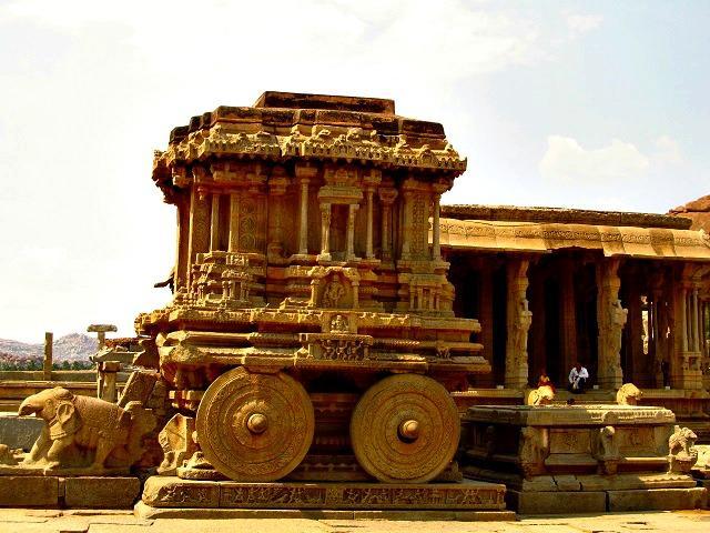 Escultura de pedra de Hampi, Índia