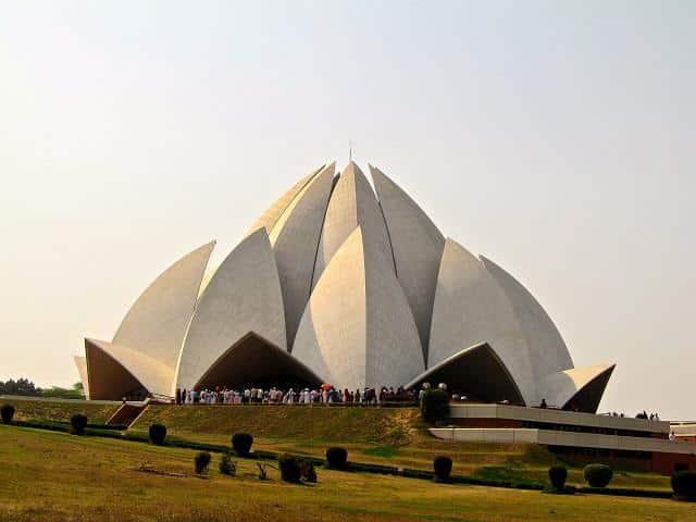 O que fazer em Nova Delhi: Lotus-Temple, Nova Delhi