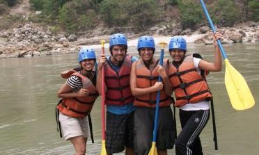 O dia em que eu fiz rafting no Ganges