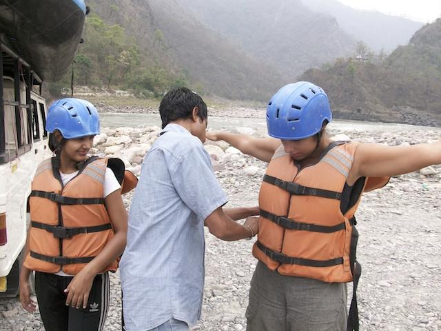 Rafting no Ganges - Rishikesh