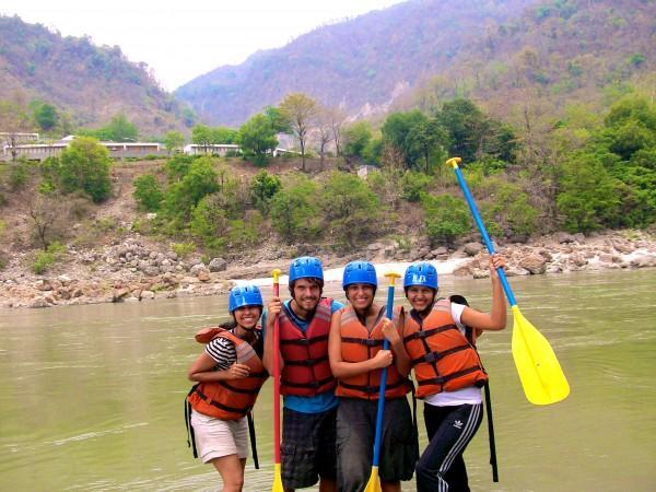 Rafting no Rio Ganges, Índia