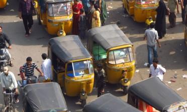 Não é um carro, é um autorickshaw
