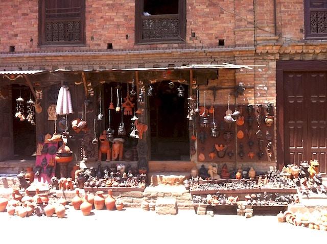 artesanato em Bhaktapur - Nepal