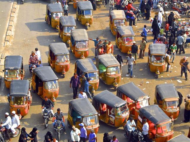 auto-rickshaw, tuk-tuk