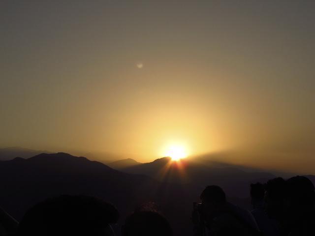 nascer do sol em Pokhara - Nepal