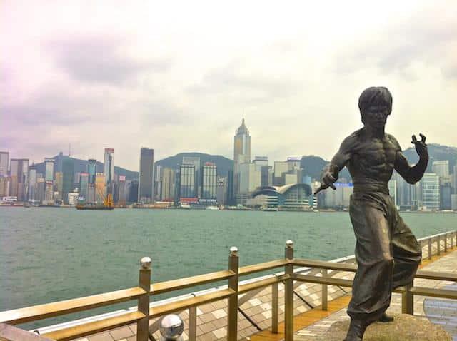 Avenida das Estrelas - Hong Kong
